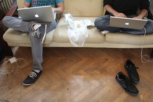 How all good tech strategies begin - with a couch and some ideas