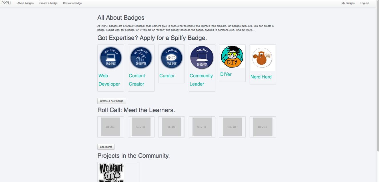 core badges