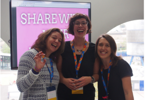 Mozfest 2014 with Erika and Laura Hilliger