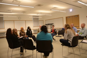 Participants in one of the pilot Learning Circles